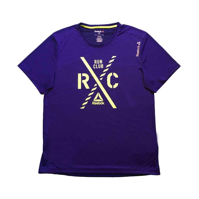 Reebok SS RC Crest Baju Olahraga Pria- Purple [AX9846]