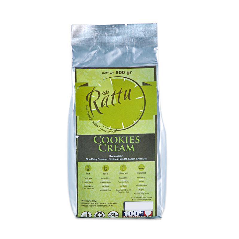 Rattu Beverage Cookie Cream Minuman Instan [500 g]