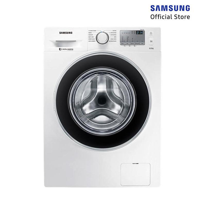 Samsung WW80J4233GW/SE Front Loading Washing Machine with Diamond Drum [8 kg]