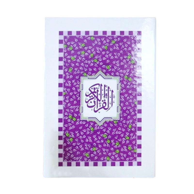 harga Nabawi Al Quran Tajwid Al Qasas Putih Ungu Buku Religi Islam Blibli.com