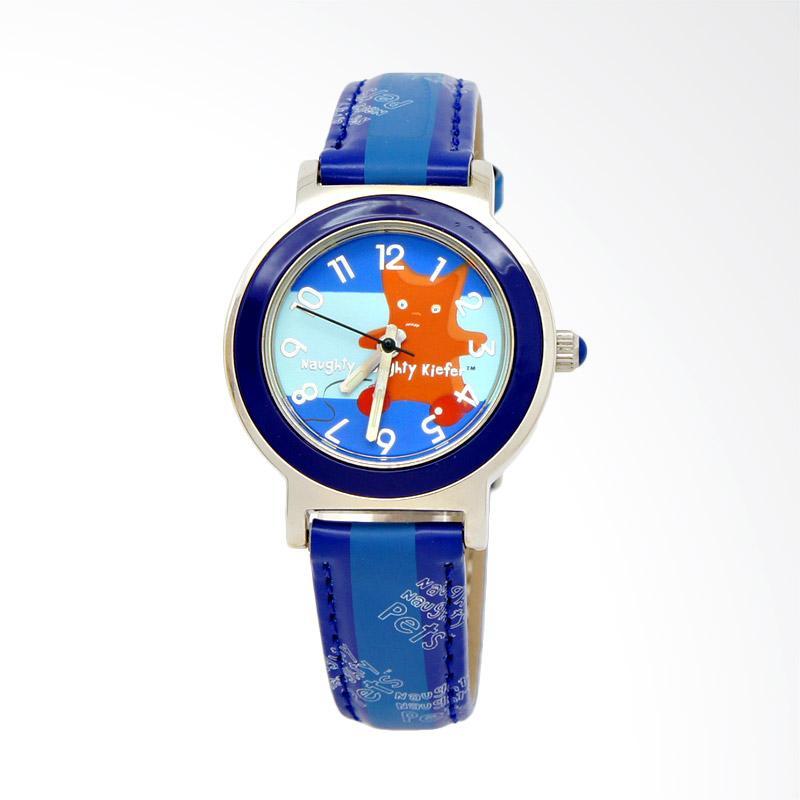 Naughty Naughty Pets NNP-51D Jam Tangan Anak - Blue