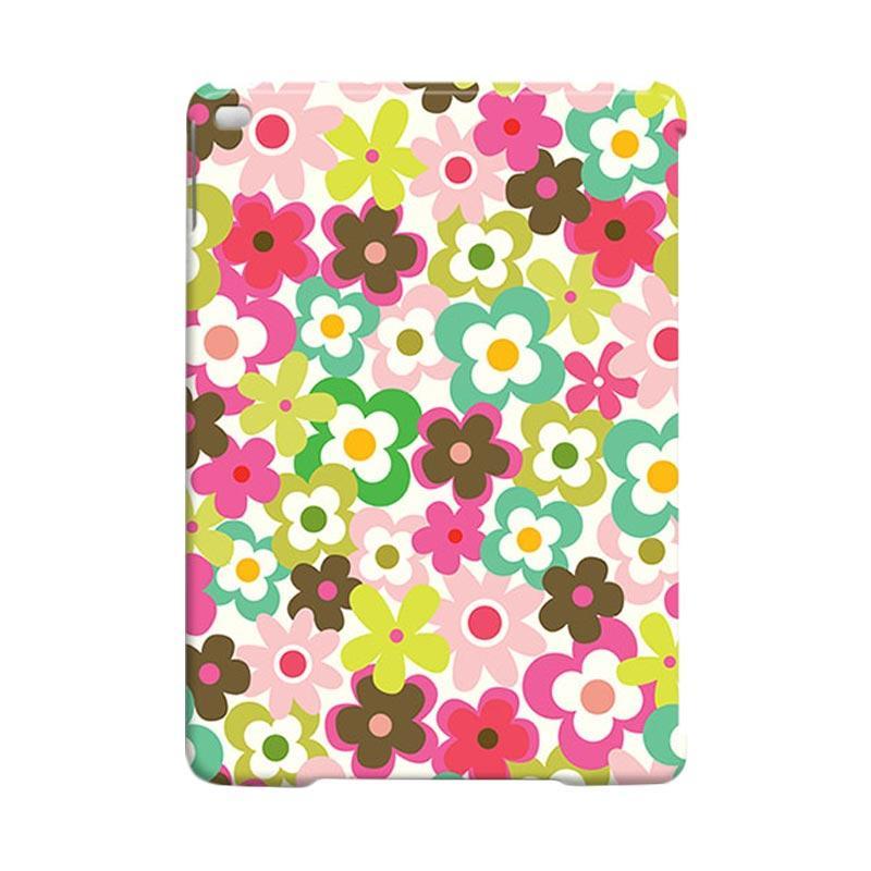 Premiumcaseid Cute Colorful Flower Hardcase Casing for iPad Air 2