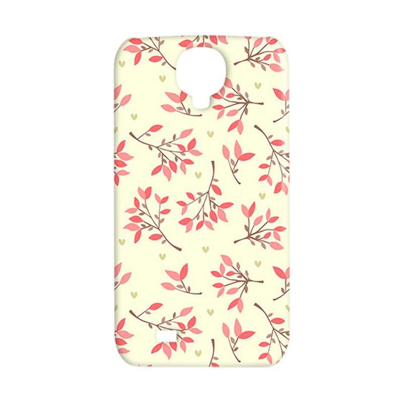 Premiumcaseid Cute Floral Seamless Shabby Hardcase Casing for Samsung Galaxy S4