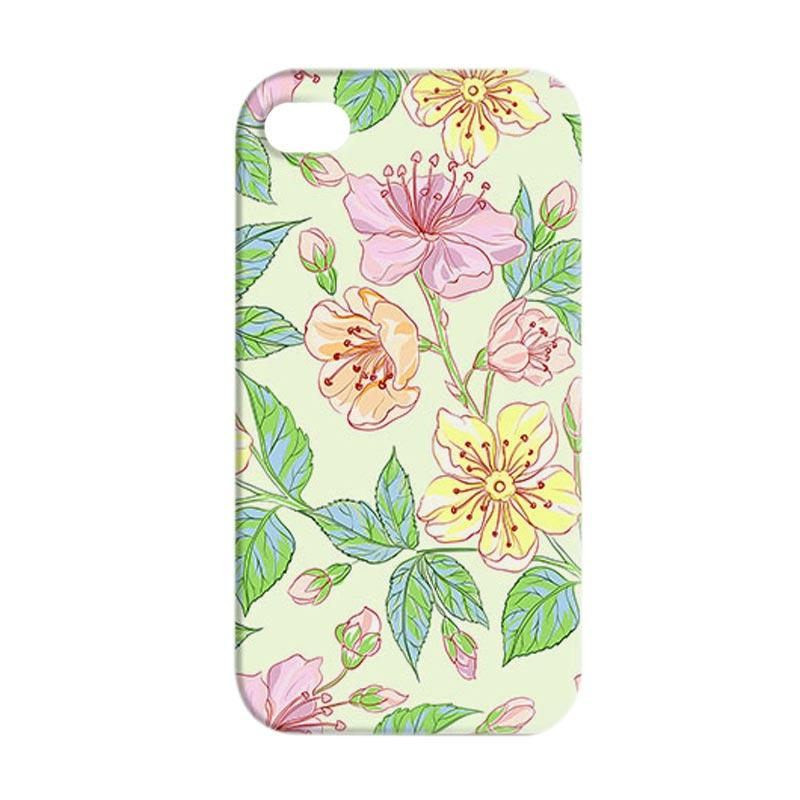 Premiumcaseid Beautiful Flower Hardcase Casing for iPhone 4 or iPhone 4s