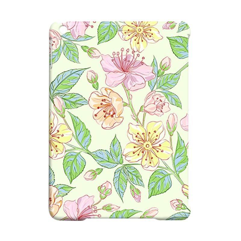 Premiumcaseid Beautiful Flower Hardcase Casing for iPad Air