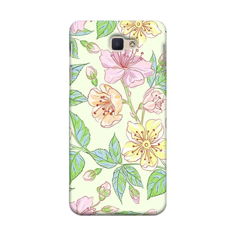 Premiumcaseid Beautiful Flower Wallpaper Hardcover Casing for Samsung Galaxy J7 Prime