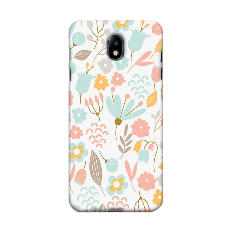 Premiumcaseid Cute Pastel Shabby Chic Floral Hardcase Casing for Samsung Galaxy J5 Pro