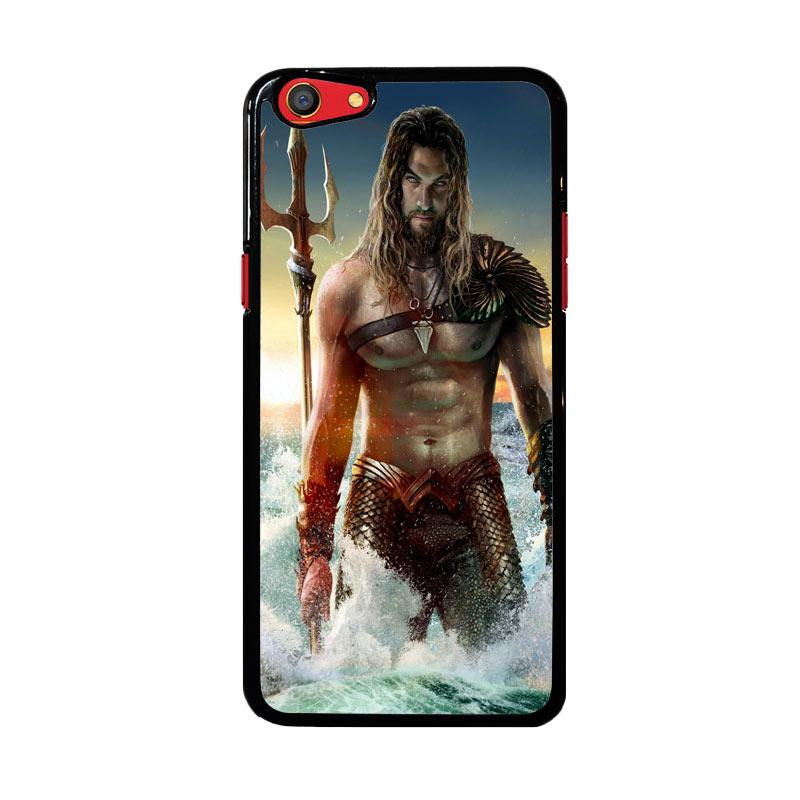 Flazzstore Jason Momoa As Aquaman Z0582 Costum Casing for Oppo F3