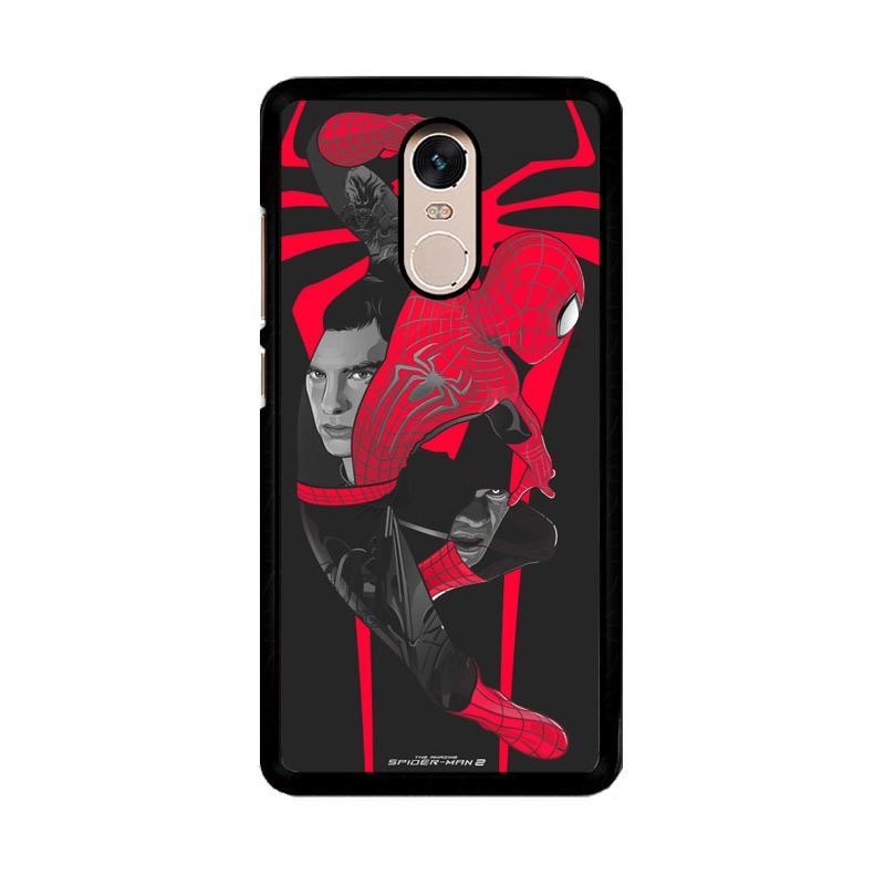Flazzstore Spider-Man 2 O0288 Custom Casing for Xiaomi Redmi Note 4 or Note 4X Snapdragon Mediatek