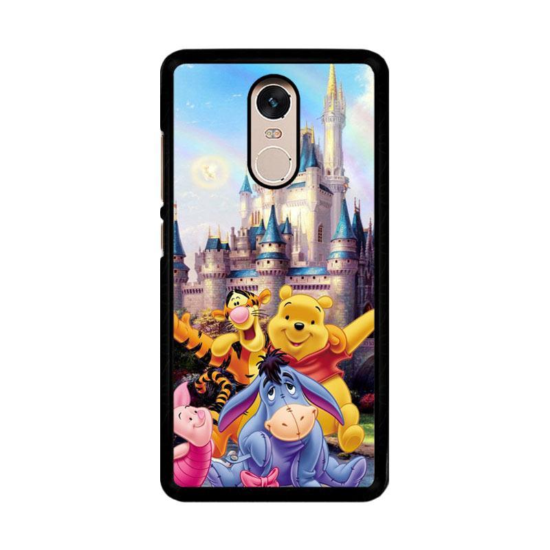 Flazzstore Winnie The Pooh Disney Z0060 Custom Casing for Xiaomi Redmi Note 4 Note 4X Snapdragon Mediatek