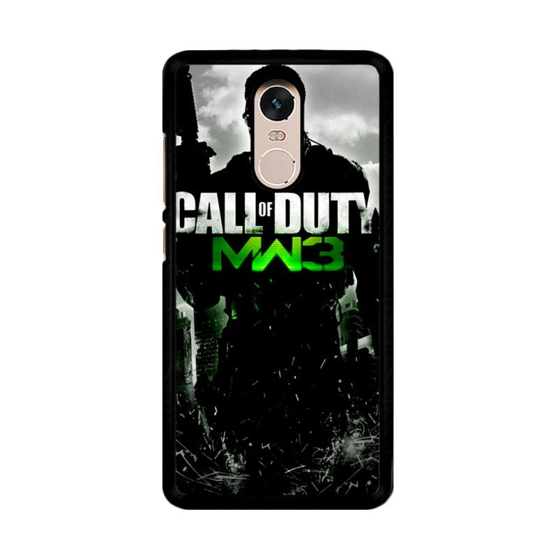 Flazzstore Call Of Duty Mw3 Z0006 Custom Casing for Xiaomi Redmi Note 4 or Note 4X Snapdragon Mediatek