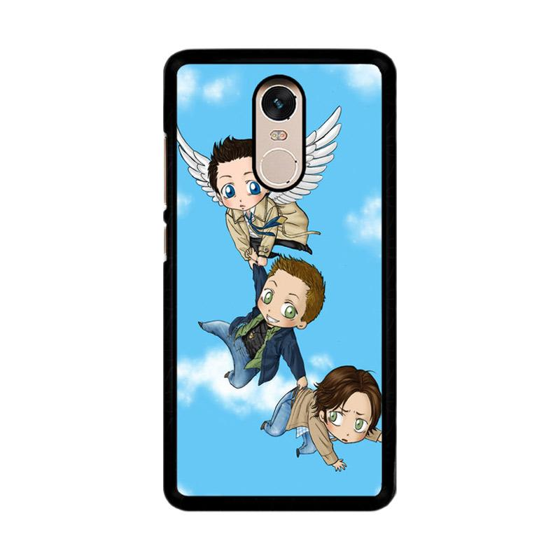 Flazzstore Supernatural Art Z0268 Custom Casing for Xiaomi Redmi Note 4 Note 4X Snapdragon Mediatek