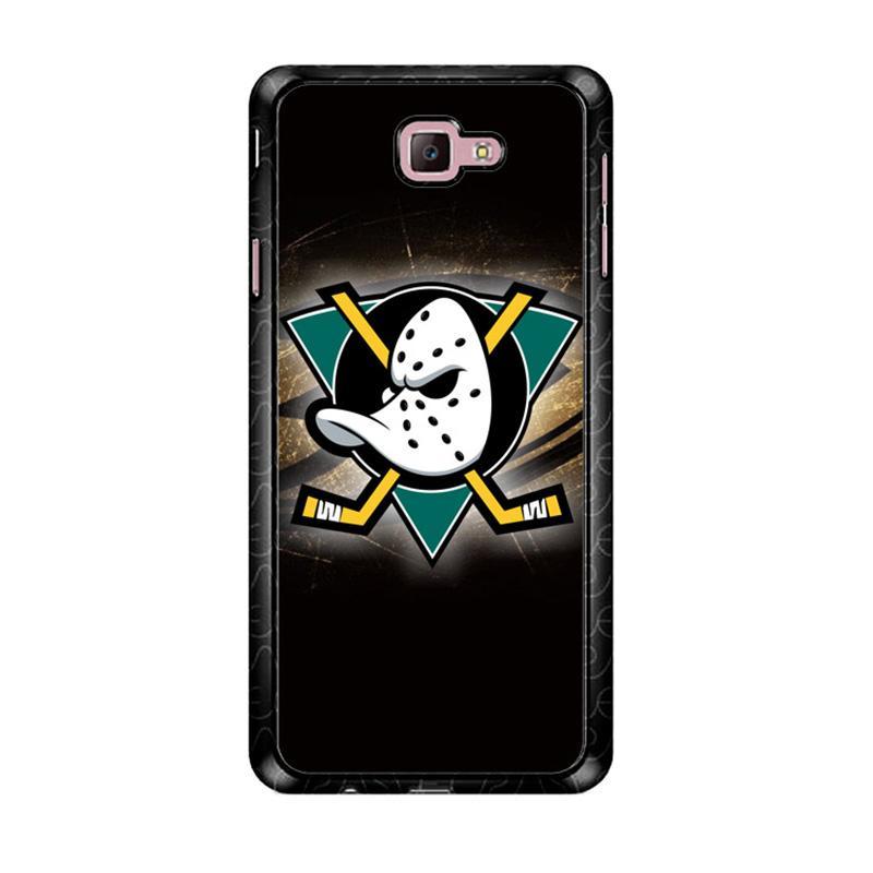 Flazzstore Anaheim Mighty Ducks Nhl Z3280 Custom Casing for Samsung Galaxy J7 Prime