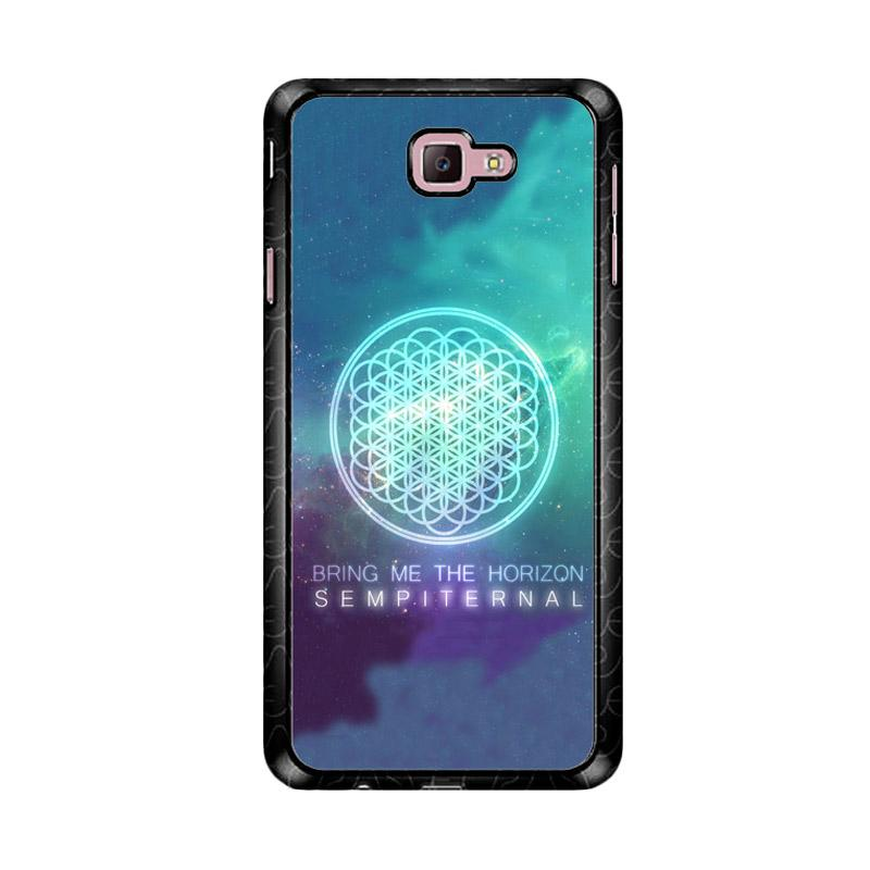 Flazzstore Bring Me The Horizon Logo Sempiternal Galaxy Z3974 Custom Casing for Samsung Galaxy J7 Prime