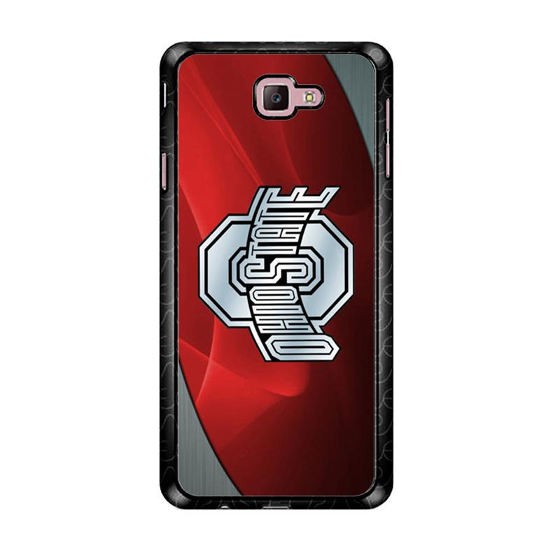 Flazzstore Ohio State Red Z4242 Custom Casing for Samsung Galaxy J7 Prime