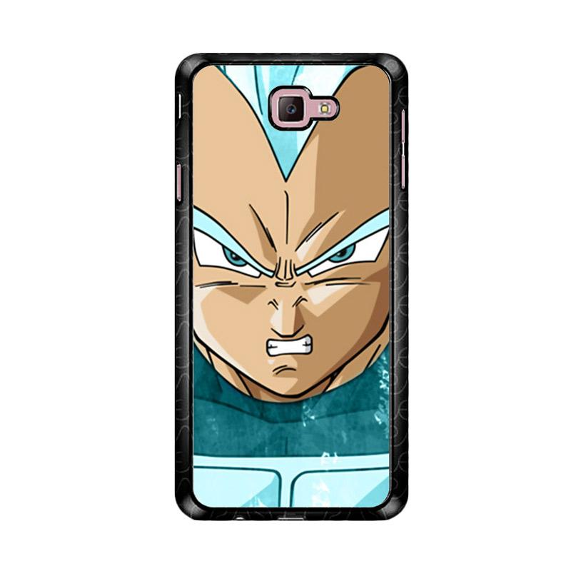 Flazzstore Vegeta Super Saiyan God Blue Z4286 Custom Casing for Samsung Galaxy J7 Prime