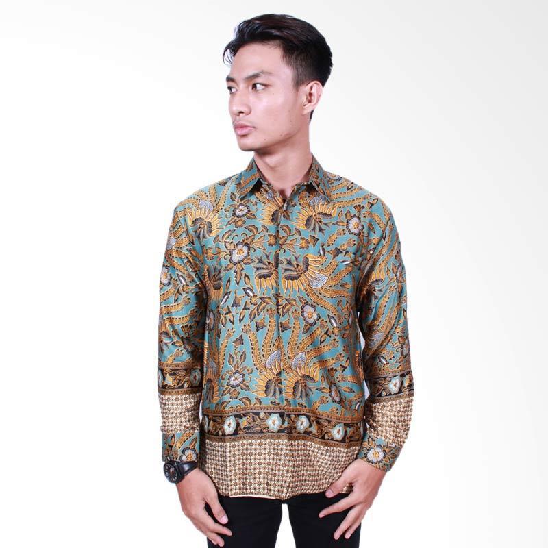 Batik Putri Ayu Solo Kemeja Batik Pria Lengan Panjang [KPJ501]