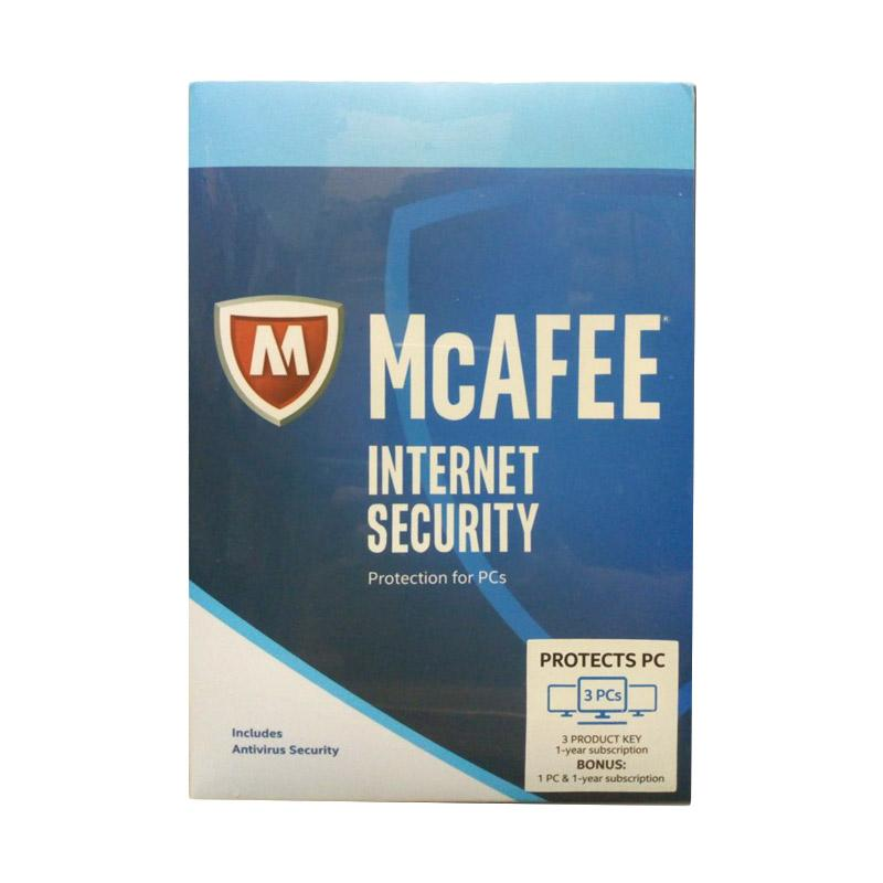 WEB_McAfee Internet Security [3 User] + Free 1 User