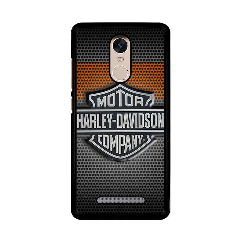 Flazzstore Motor Harley Davidson Logo Z4053 Custom Casing for Xiaomi Redmi Note 3 or Note 3 Pro