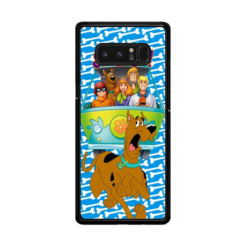 Flazzstore Scooby Doo Z2652 Custom Casing for Samsung Galaxy Note8