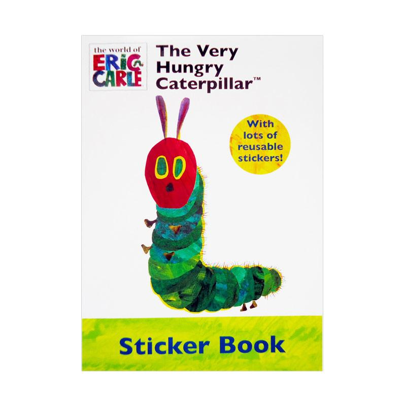 Genius The Very Hungry Caterpillar with Lots of Reusable Stickers! Sticker Book