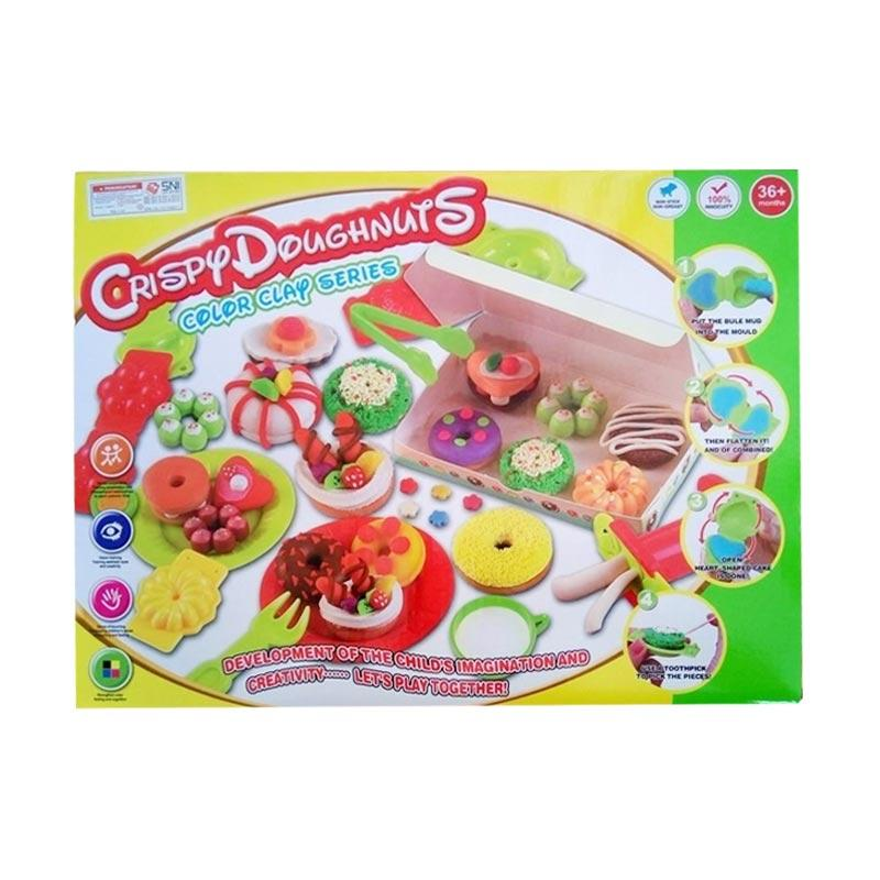 OEM Crispy Doughnuts Colour Clay Series Mainan Anak