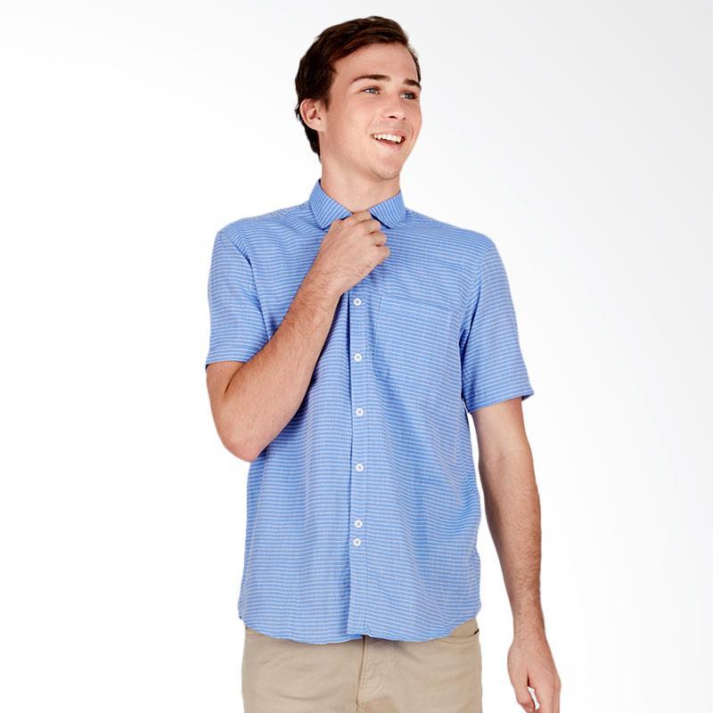 Tendencies Thin Shirt Kemeja Pria - Stripe Blue
