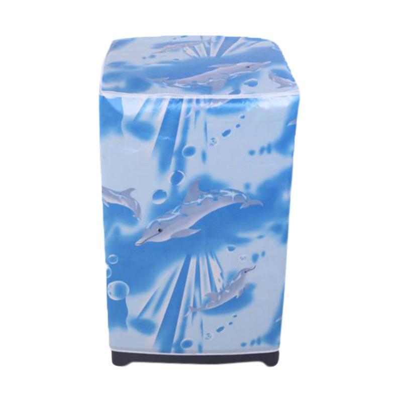 harga Homestuff Dolphin Cover Mesin Cuci Buka Atas [Type A] Blibli.com