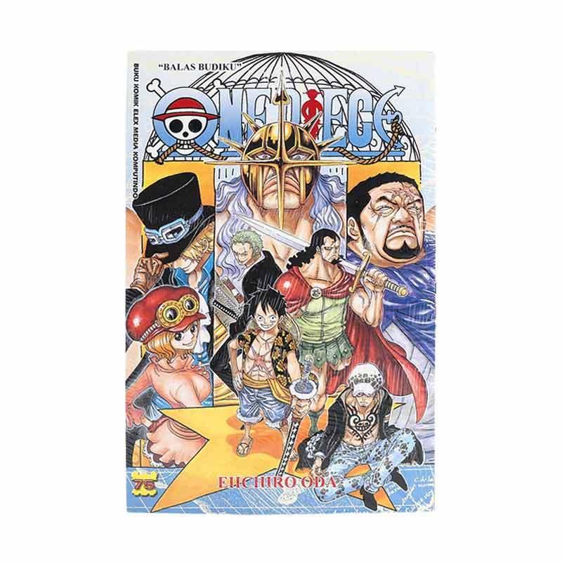 Elex Media Komputindo One Piece 75 715012108 by Eiichiro Oda Buku Komik