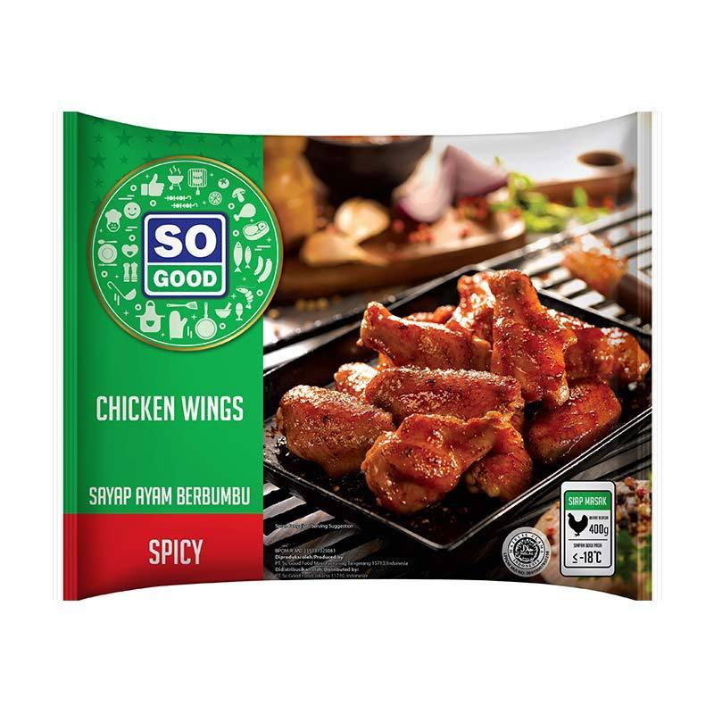 So Good Spicy Wing Makanan Instan [400 Gr]