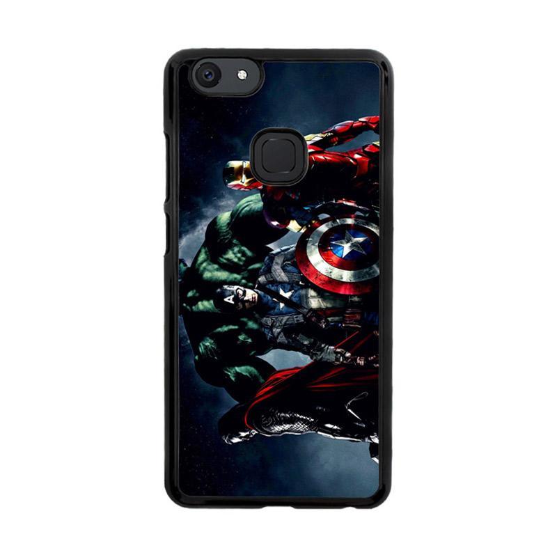 Flazzstore Avenger Captain America Thor Hulk And Iron Man F0152 Custom Casing for Vivo V7