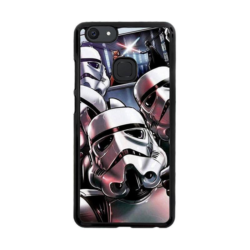 Flazzstore Star Wars Stormtrooper Selfie Z4205 Custom Casing for Vivo V7