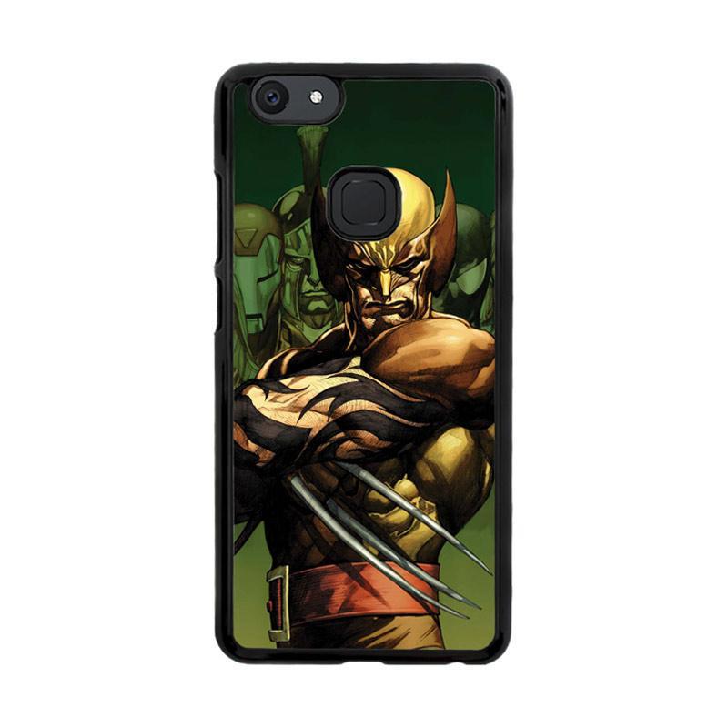 Flazzstore Dark Wolverine X-Man And Friend F0376 Custom Casing for Vivo V7