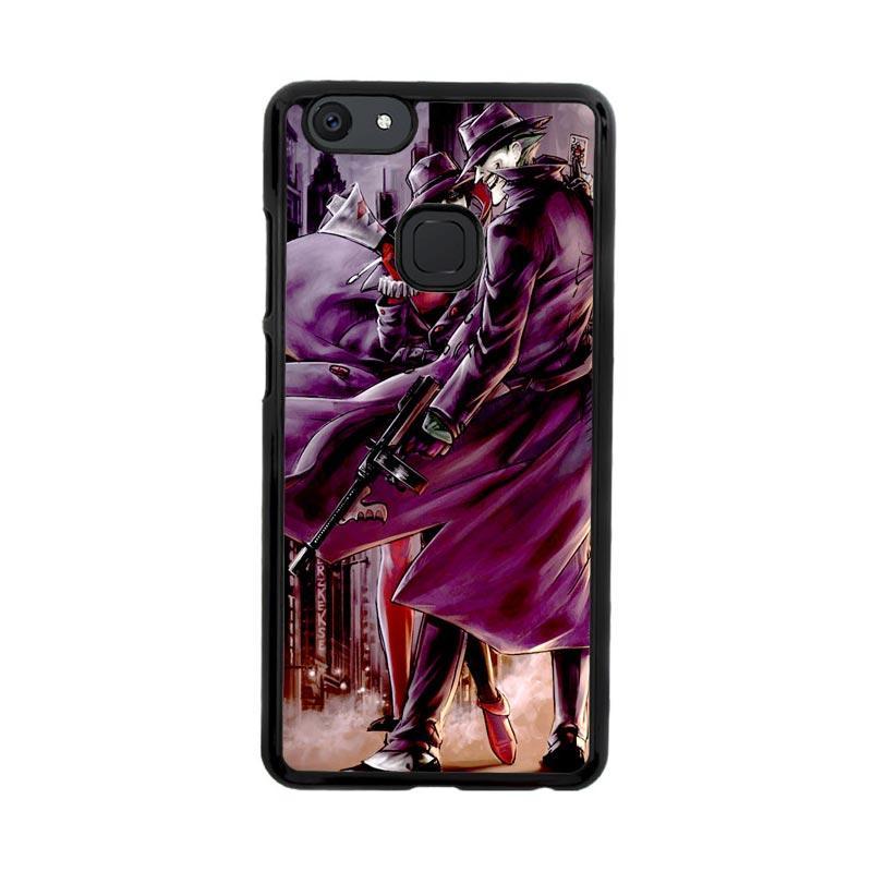 Flazzstore Joker And Harley Quinn Art Z0029 Custom Casing for Vivo V7