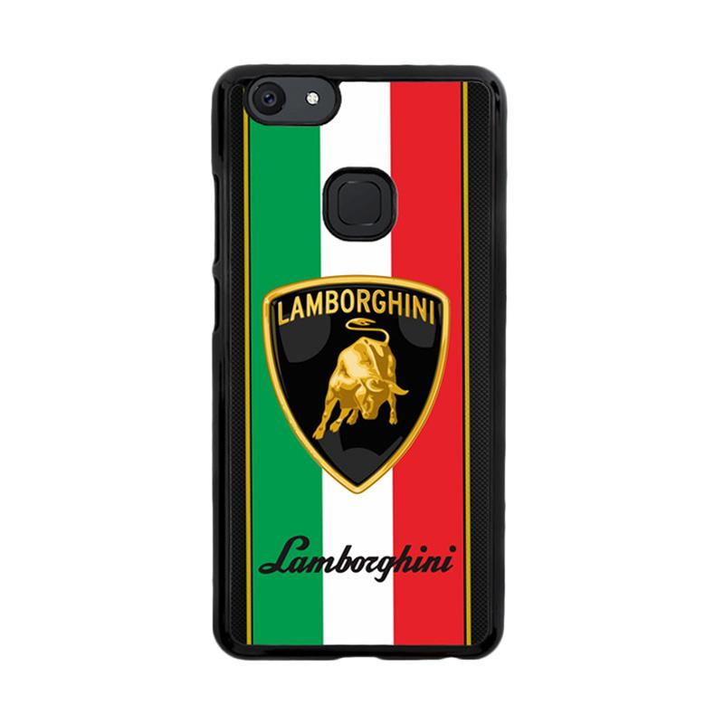 Flazzstore Lamborghini Logo X3093 Custom Casing for Vivo V7