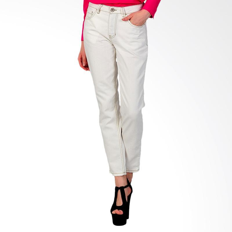 SJO & SIMPAPLY Yukesi Women's Jeans - Off White