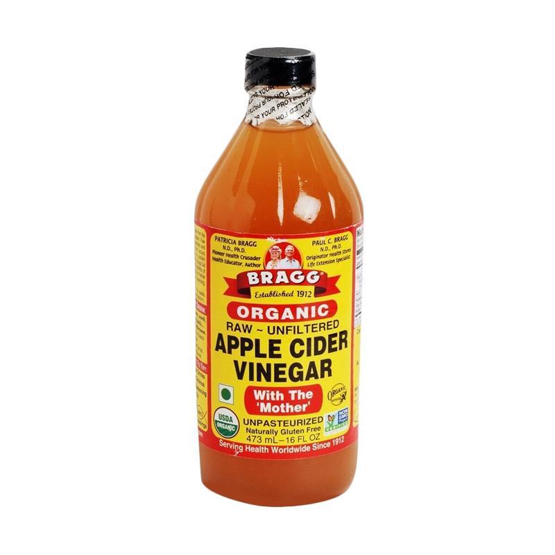 harga Bragg Organic Apple Cider Vinegar [473 mL] Blibli.com