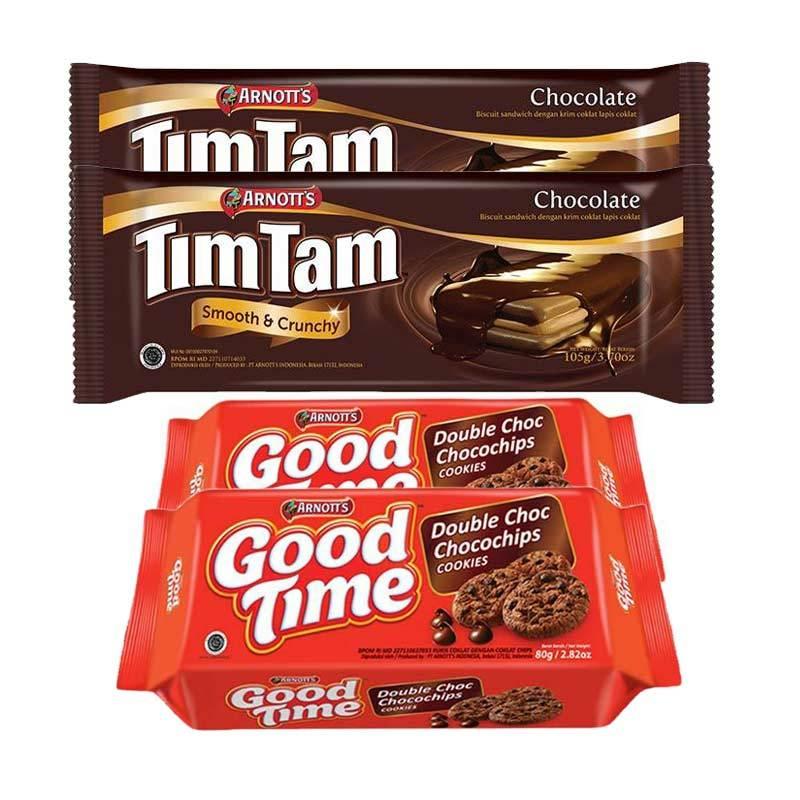 harga Paket Snack 7 - Arnott's Paket Tim Time Blibli.com
