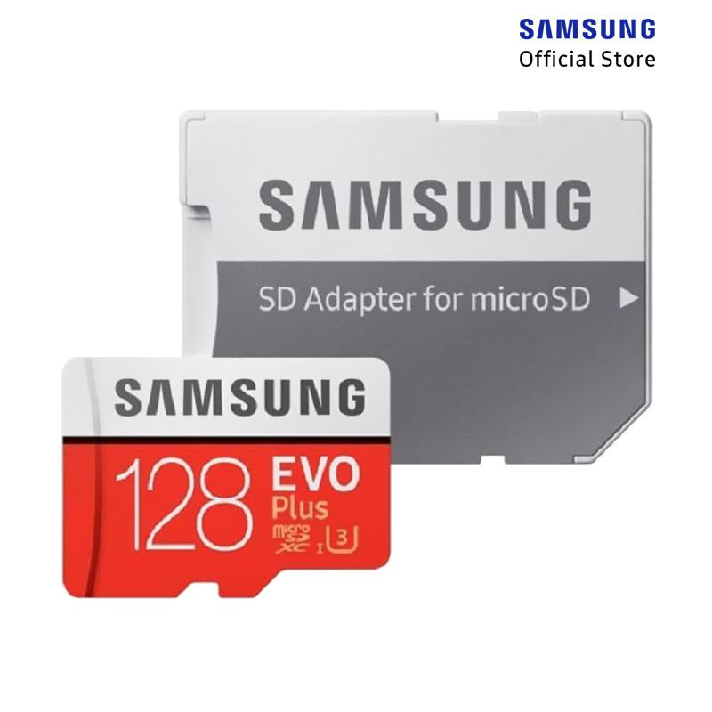 ST3 Regular - Samsung MicroSD EVO Plus Memory Card with Adapter [128GB]