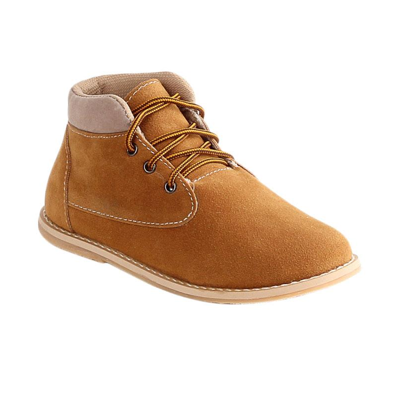 Ulasan Terbaru Blackkelly BLK-LTV 611 Sneaker Kasual Sepatu Anak Laki-Laki - Coklat