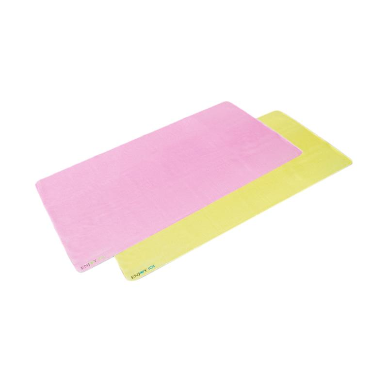 ENJOY101 Waterproof Incontinence Pads Underpads - Pink Yellow [140 x 65 cm/2 pcs]