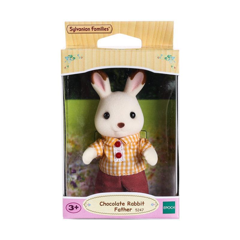 harga Sylvanian Families Chocolate Rabbit Father Mainan Anak Blibli.com