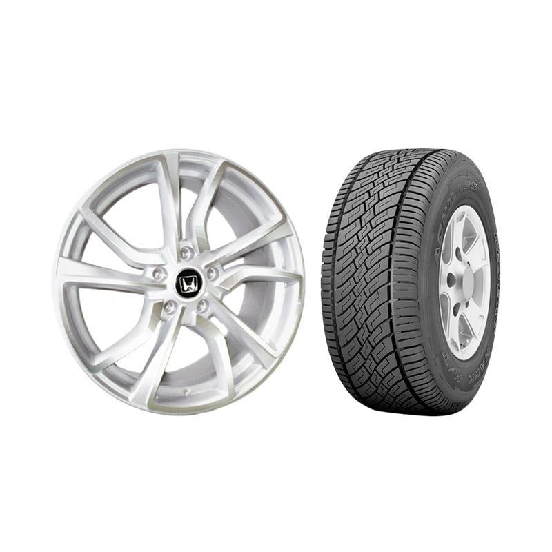harga Replika Type-R Ring 18 Paket Velg Mobil for Xpander/ Terios/ Rush + Ban Mobil Achilles [Pasang Di Tempat] Blibli.com