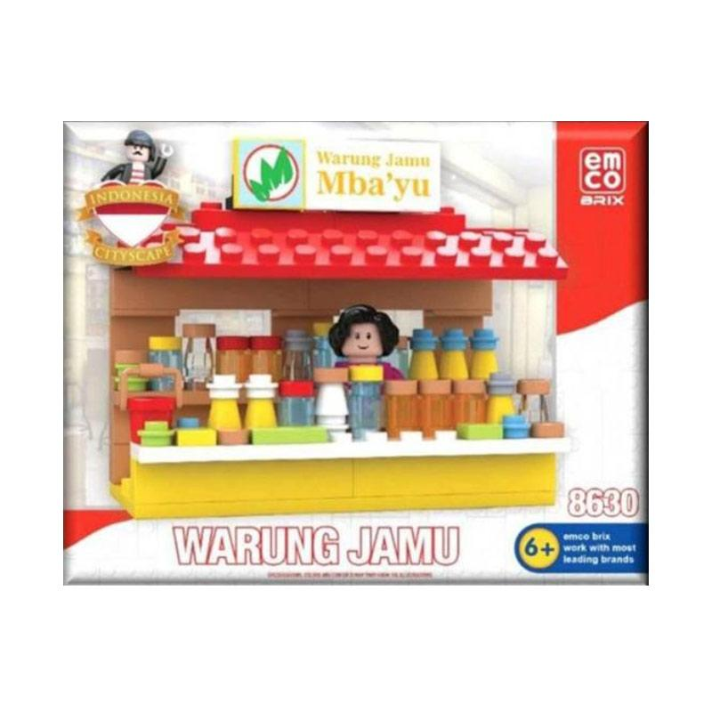 Kelebihan Kekurangan Emco Brix 8630 Warung Jamu Indonesia Series Blocks & Stacking Toys .