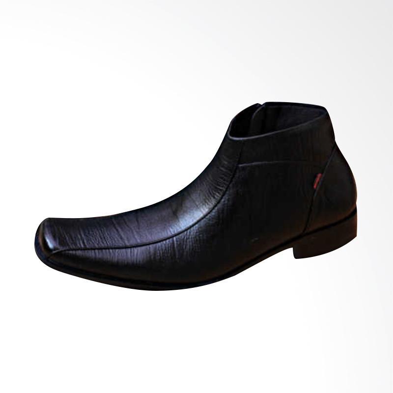 harga Kickers Kulit Asli PDL Sepatu Pantofel Pria - Hitam Blibli.com