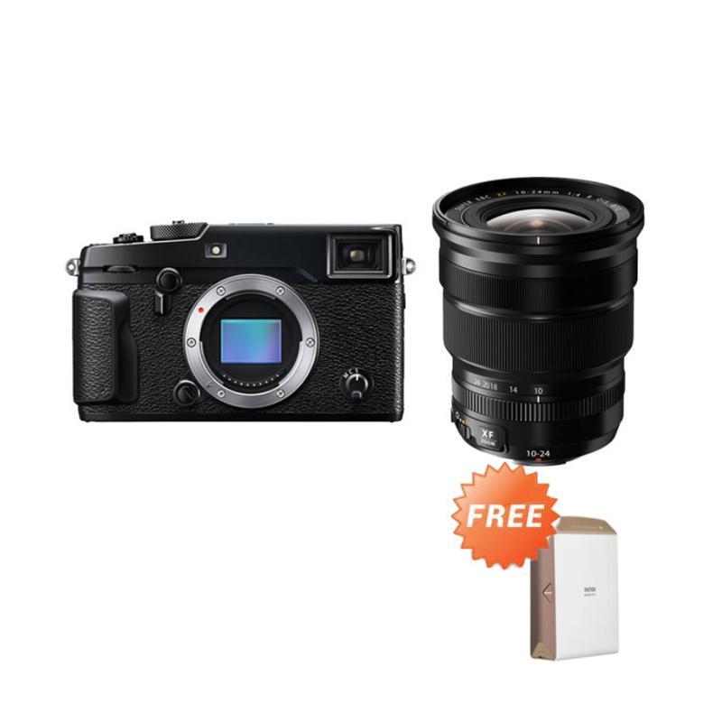 harga Fujifilm X-Pro2 Body Kamera Mirrorless - Black + Fujifilm XF10-24mm F/4 R OIS Blibli.com