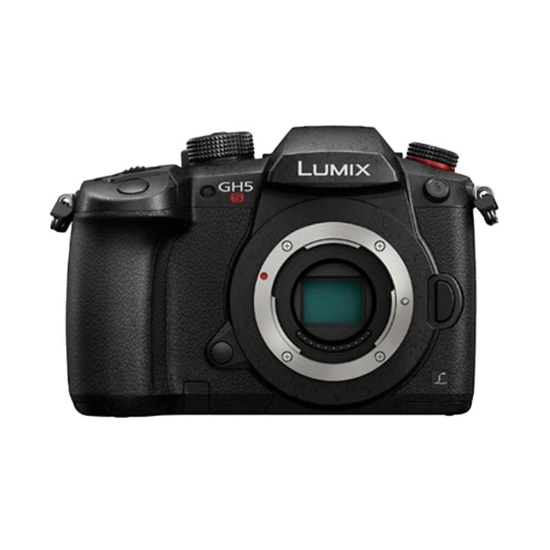 Panasonic Lumix DMC GH5S Body Only - Black, Free : Battery & Dc CouplerWITACOM