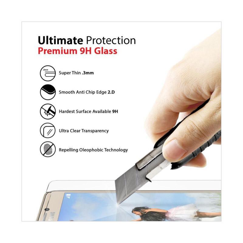 QCF Tempered Glass Vivo Y71 Pelindung Layar Vivo Y71 Screen Protector Vivo  Y71 - Clear
