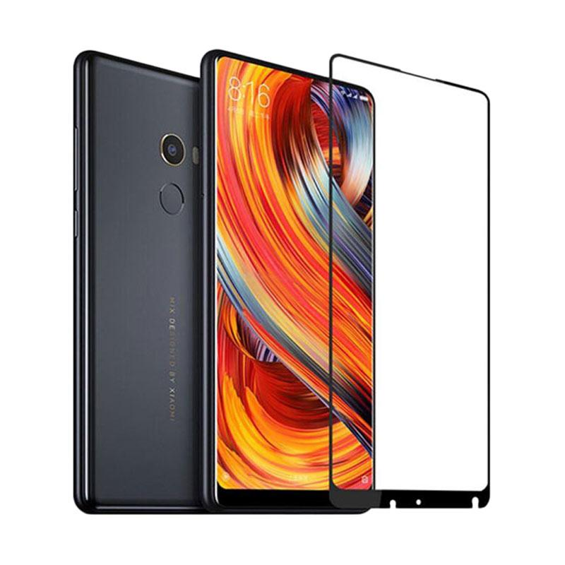 harga Grace Premium Tempered Glass Screen Protector for Xiaomi Mix 2s 5.99 Inch - Lis Hitam [Full Screen/ Full Glue] Blibli.com