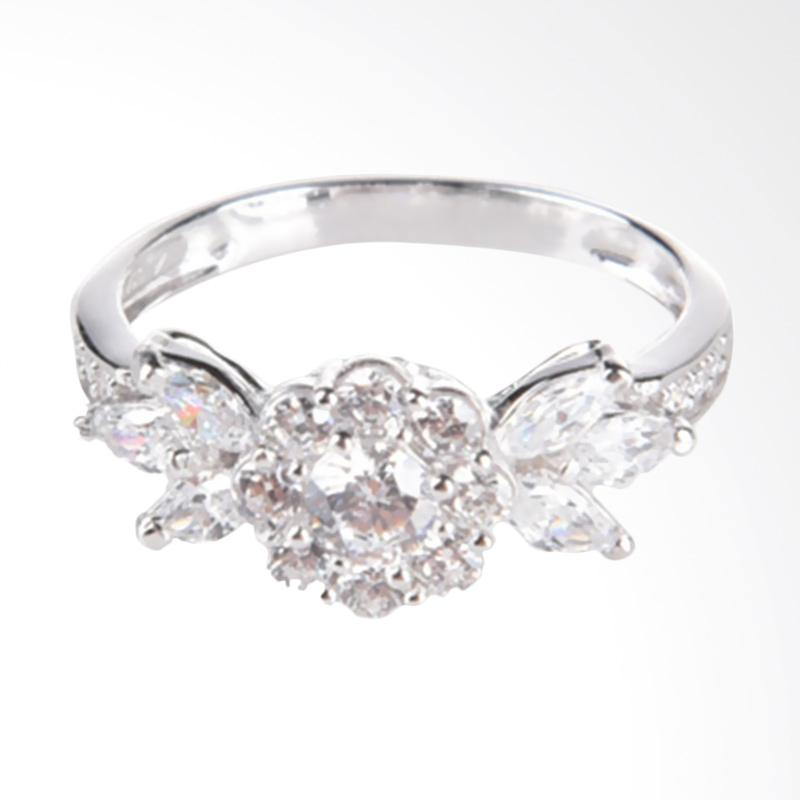 Harga Dan Keunggulan Kinina 17811 Cincin Emas Putih Online Shop